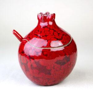 Sugar bowl pomegranate